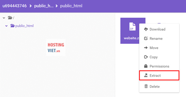 huong dan upload source code php len host