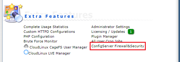 ConfigServer Firewall&Security