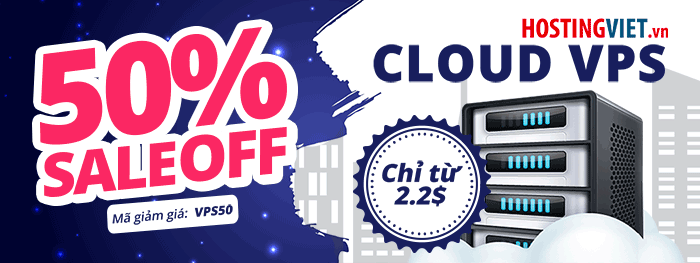 Giảm 50% Cloud VPS
