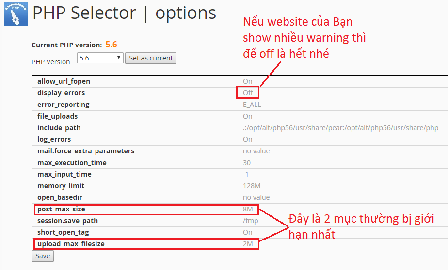 PHP Selector